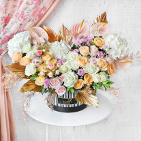 Cascading Floral Love